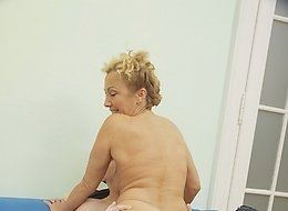 Check exciting action with hot milf Adretta.